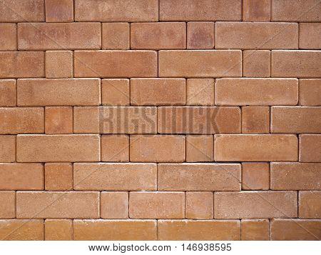 Brickwork Wall Brick block pattern background Panel