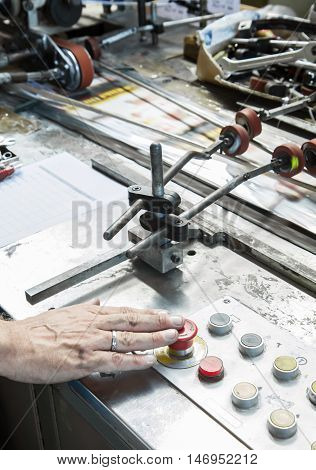 Worker In The Factory Of Special-purpose Machines