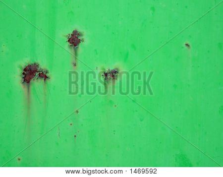 Rusty Green Background