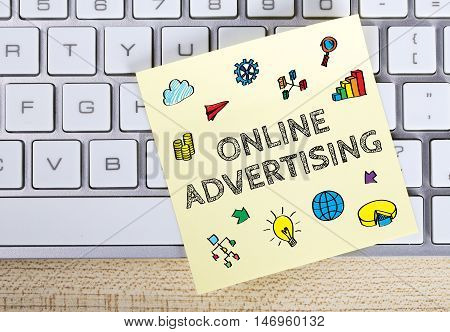 Online Advertising Business Concept