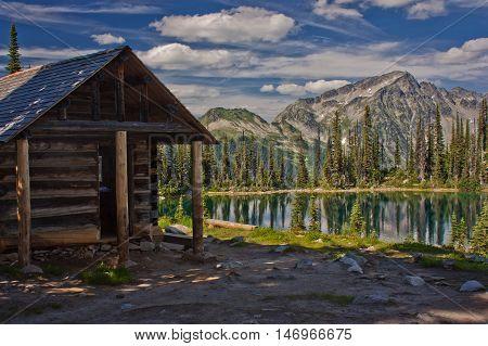 Eva Lake in Revelstoke National Park, Canada