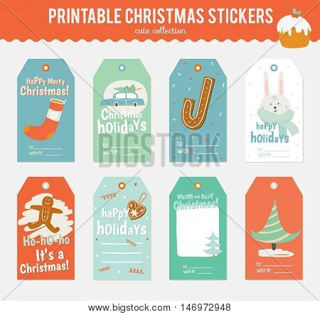 Romantic and love cards, notes, stickers, labels, tags with Spring illustrations. Template for scrapbooking, wrapping, congratulations, invitations. Vector wishes with cute animals, flowers and sweets