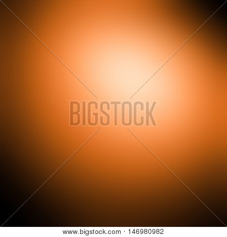 Orange-red gradient background / Scarlet color background