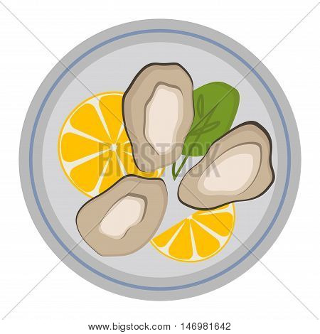 Fresh mussel gastronomy ingredient on white background. Shellfish nutrition nature food freshness mussels. Dinner cooked mussels gourmet healthy cuisine seafood gastronomy ingredient vector.