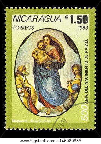 Nicaragua - Circa 1983.