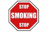Stop Smoking Warning Sign