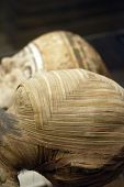 picture of embalming  - Egyptian mummy close up - JPG