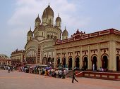 picture of kali  - The Afternoon View Of Kali Temple From Far - JPG