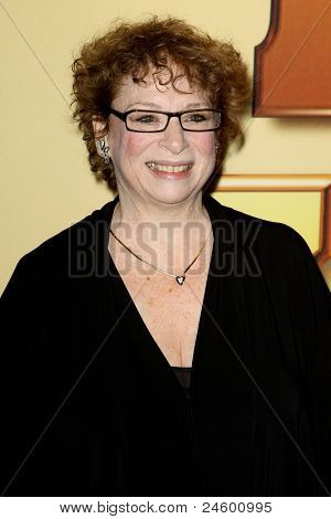 "NEW YORK - OCTOBER 24: Marcia Jean Kurtz attends the premiere of ""Tower Heist"" at the Ziegfeld Theatre on October 24, 2011 in New York City."