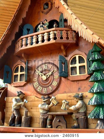 Cuckoo Clock From Black Forrest Germany