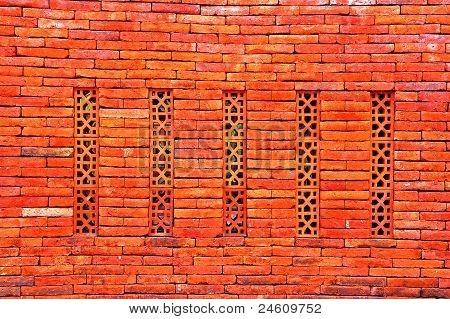 terracotta wall