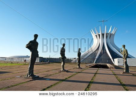 Cathedral of Brasília and the Evangelists