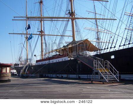 South Street Seaport Ship