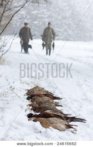 hunters at hunt