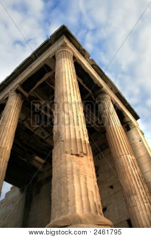 Greece, Athens -  Erechtheum Detail, The Acropolis
