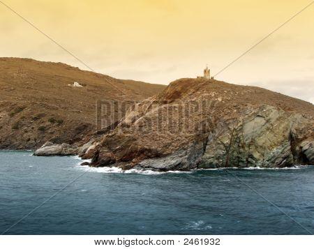 Greek Island Of Antros