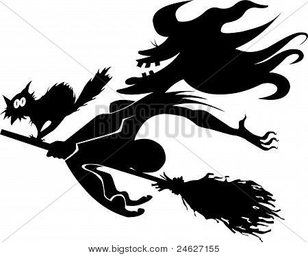 Hellcat And Witch