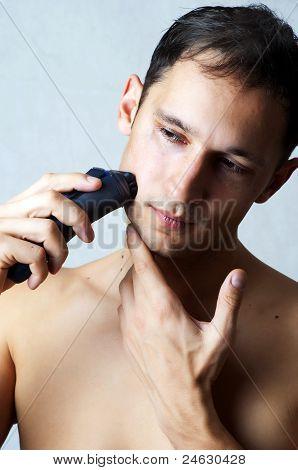 Máquina de afeitar eléctrica de afeitar