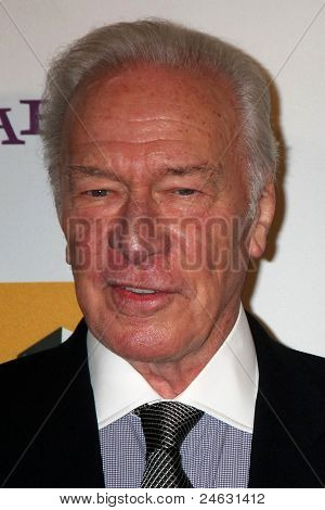 LOS ANGELES - OCT 24:  Christopher Plummer arriving at the 15th Annual Hollywood Film Awards Gala at Beverly Hilton Hotel on October 24, 2011 in Beverly Hllls, CA