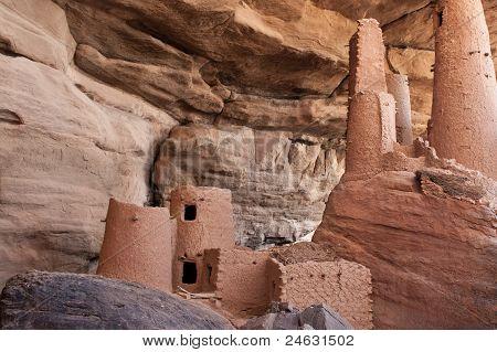 Ancient Dogon Village, Mali (africa).
