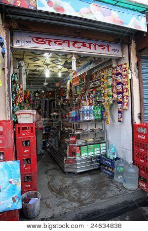 Tienda de abarrotes en Baruipur