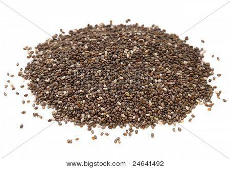 Chia Seed Pile