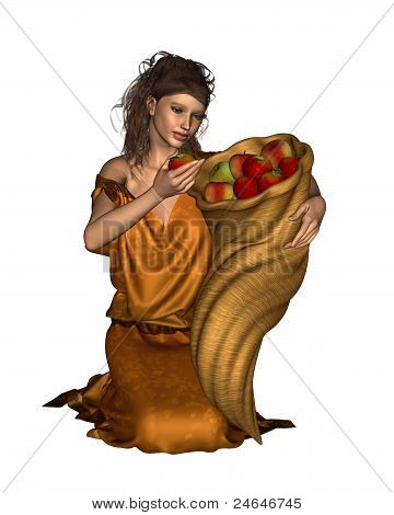 Pomona Goddess of the Orchard