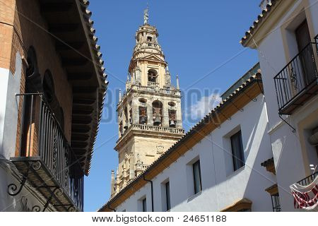 Bell tower of the mosque of Cordoba