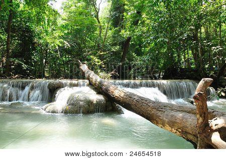 Eravan Waterfall, Kanchanabury, Thailand