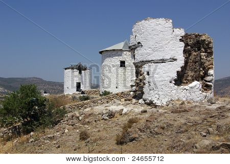 The Old Mills In Turkey