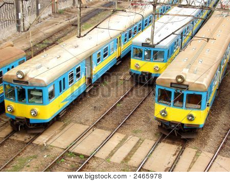 Warsaw, Poznan - Old Trains