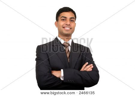 Indian Business Man Smiling