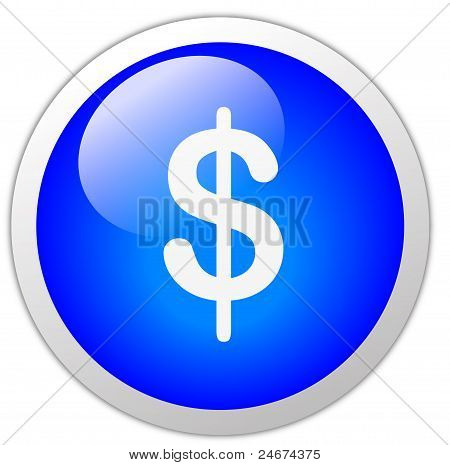 Dollar Icon Button