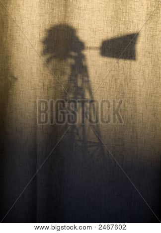 Shadow On Fabric