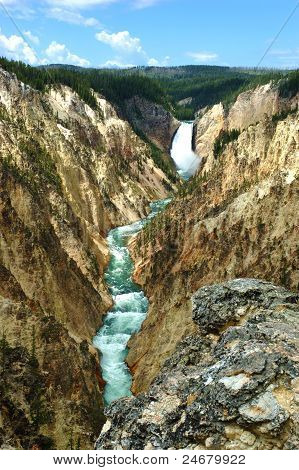 Der Grand Canyon des Yellowstone