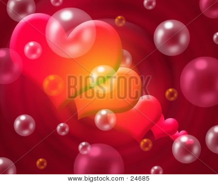 Hearts And Bubbles
