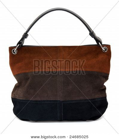 Suede Ladies' Handbag