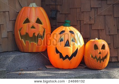 Three Pumpkins.