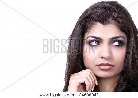 Sad Worried Girl