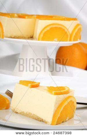 Orange Bavarian Cream (bavarese)