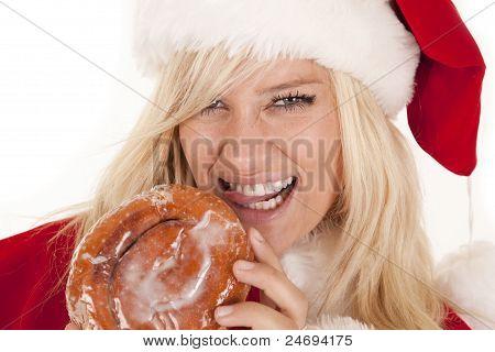 Mrs. Santa Doughnut Lick