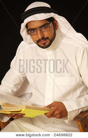 Arabischer Student