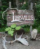 picture of brothel  - Taken in Liarsville Alaska outside of Skagway Alaska - JPG