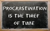 stock photo of proverb  - Blackboard writings  - JPG