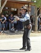 A Gunfighter At Helldorado, Tombstone, Arizona