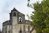 The Convent Of Christ Is A Former Roman Catholic Monastery In Tomar Portugal. The Convent Was Founde poster