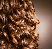 picture of hair curlers  - Curly Hair - JPG