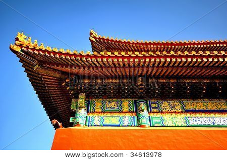 Beijing Forbidden City Architecture