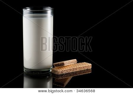 Milk And Wafer