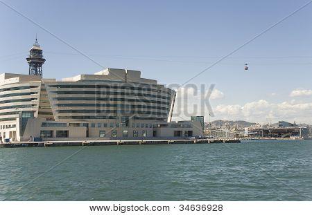 Barcelona, Building Of Sea Passenger Port.